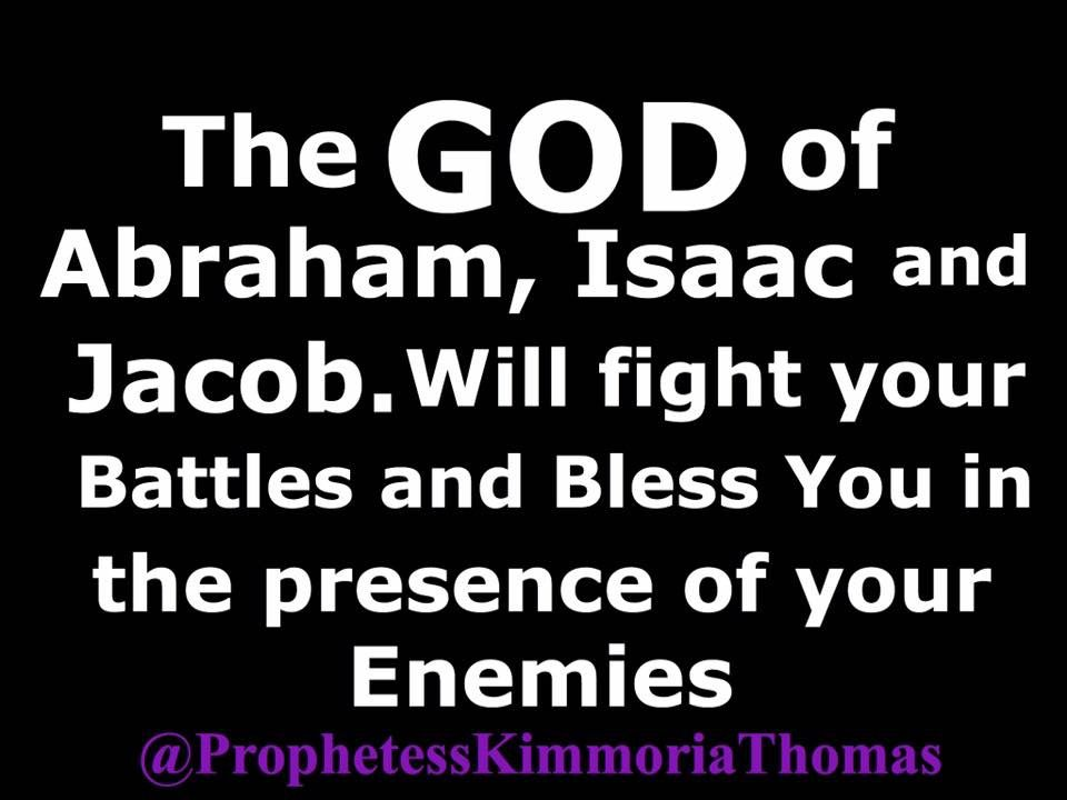 God will Bless You in the Presence of your Enemies!! | Bible