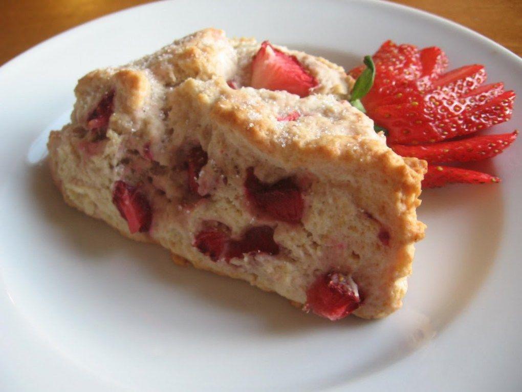 Strawberry Scones - Lulu the Baker