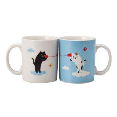 Decole Mug Set (Cats & Cans)