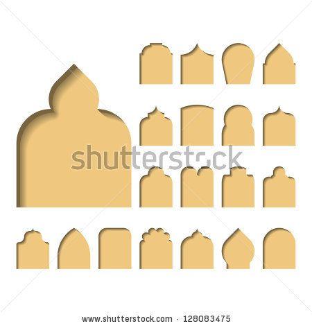 Arch Types Vector Stock Vector House Arch Design Moroccan Design Arch