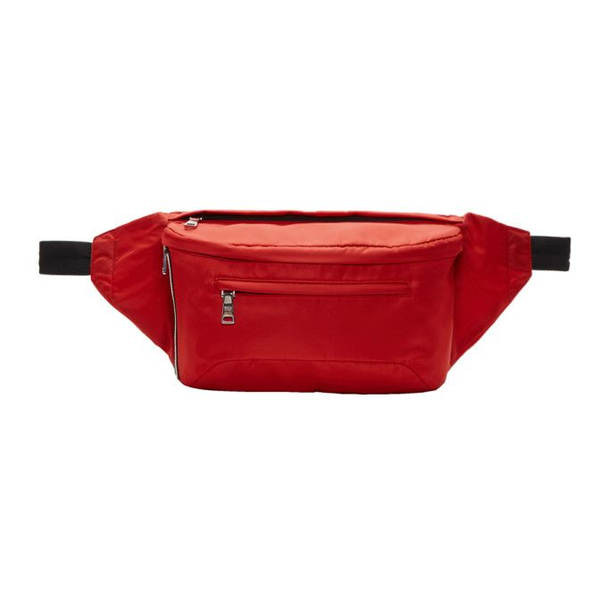 a0bf35220a9c PRADA Red Nylon Fanny Pack.  prada  bags  leather  belt bags  nylon ...