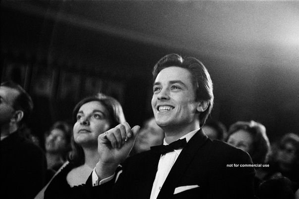Alain Delon. Paris 1962