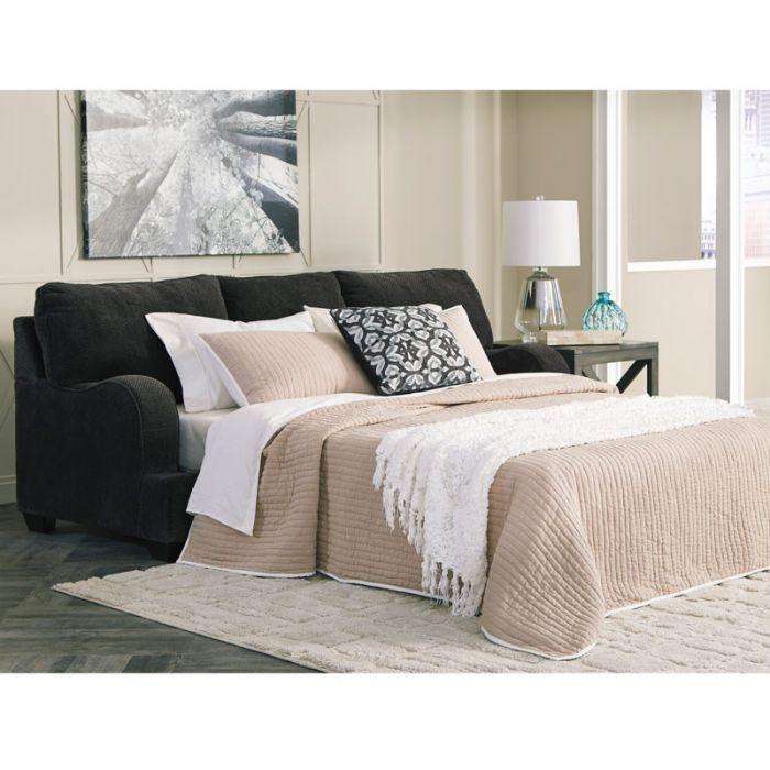 Best Memory Foam Contessa Queen Sleeper Gray Queen Sofa 400 x 300