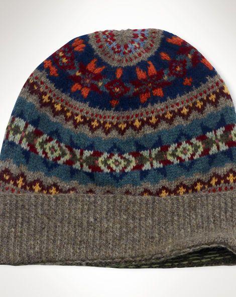 Fair Isle Wool Hat - Polo Ralph Lauren Hats - RalphLauren.com | My ...