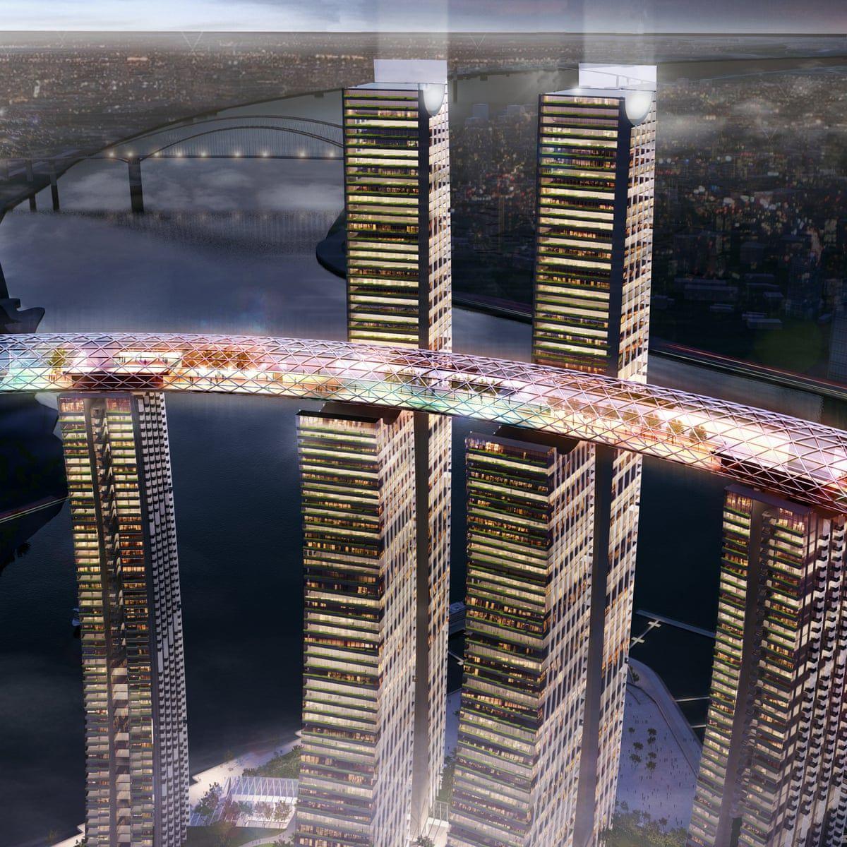Safdie Architects Horizontal Skyscraper in 2020