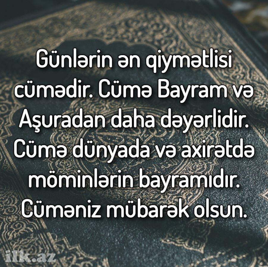 Pin On Cumə Gunu Təbrikləri