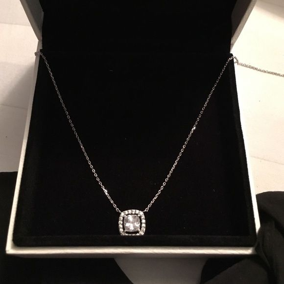 0007e3afa Pandora necklace Sterling silver & crystals Jewelry Necklaces | My ...
