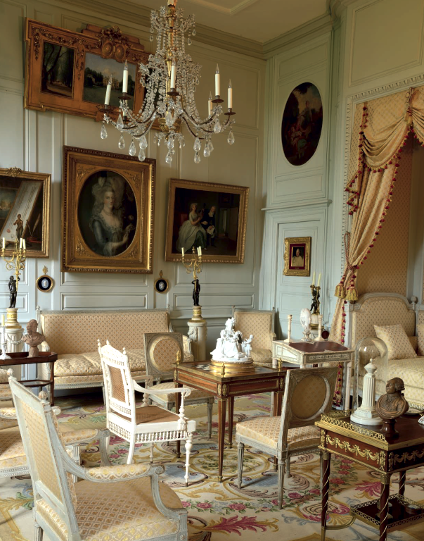 The Collected Interior Mixing Pattern Texture: The Jean-Louis Remilleux Collection: The Digoine Château