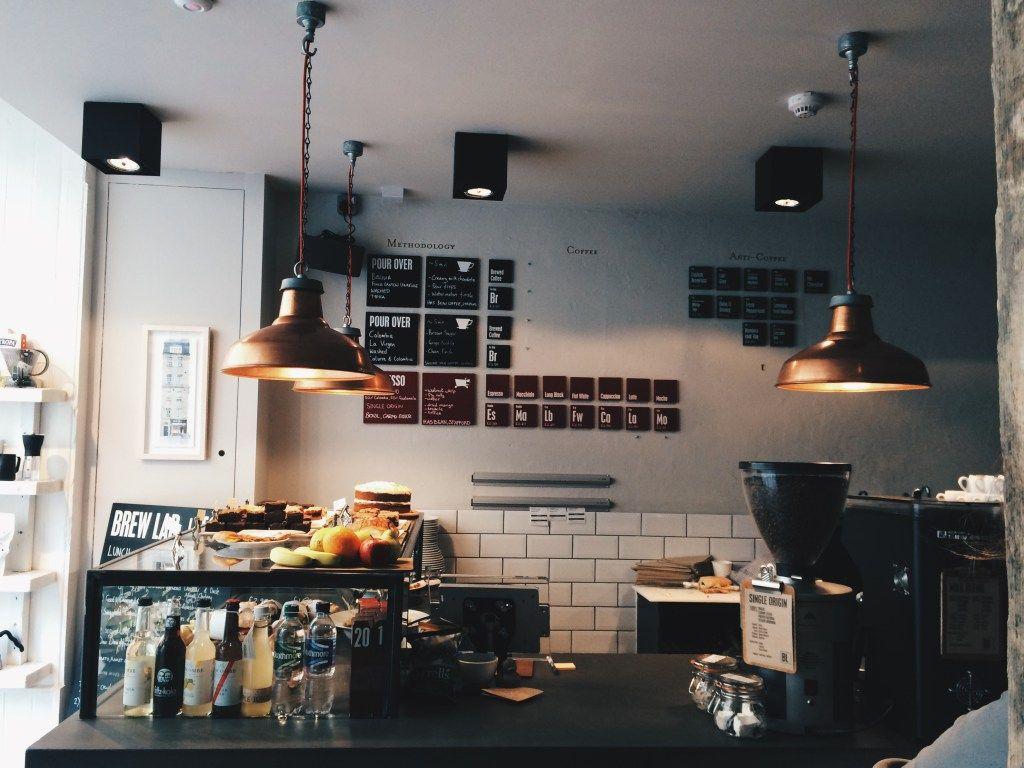 Brew Lab Edinburgh Vintage Coffee Shops Coffee Shop Menu Coffee Shop Design