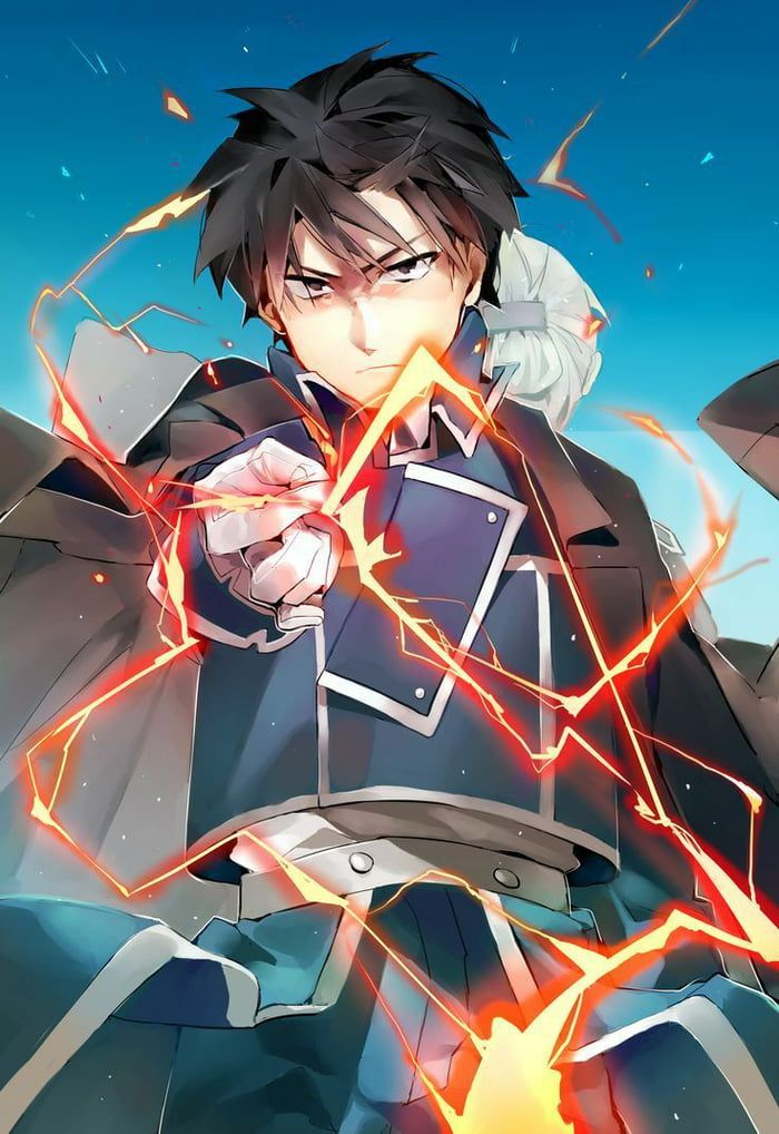 Character of the week: roy mustang (4/7)