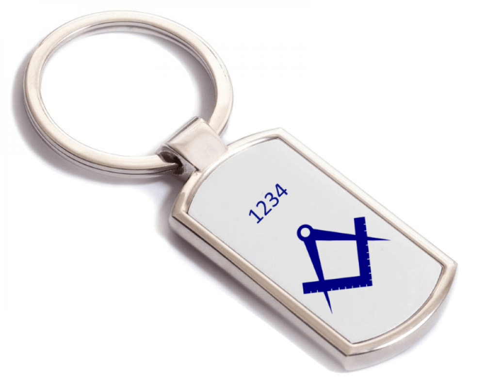 Masonic key ring Gift or present - Gifts and Presents for freemasons by Gifts on the square Novelty, Installation