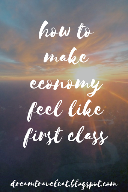 Dream Travel Eat: how to make economy feel like first class
