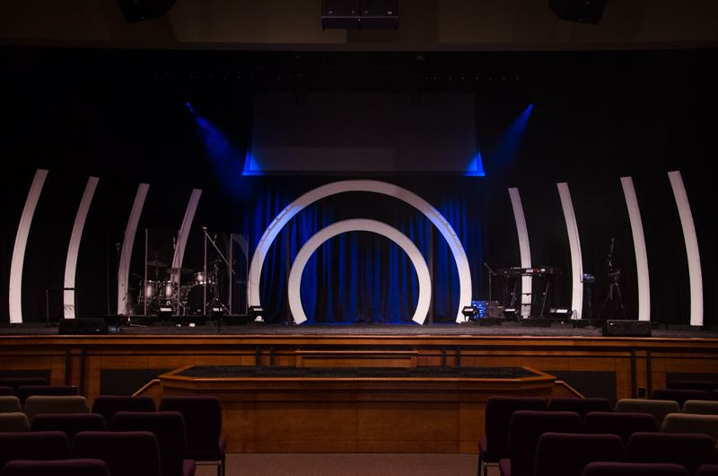 Ribs And Arches Church Stage Design Church Stage Design Ideas