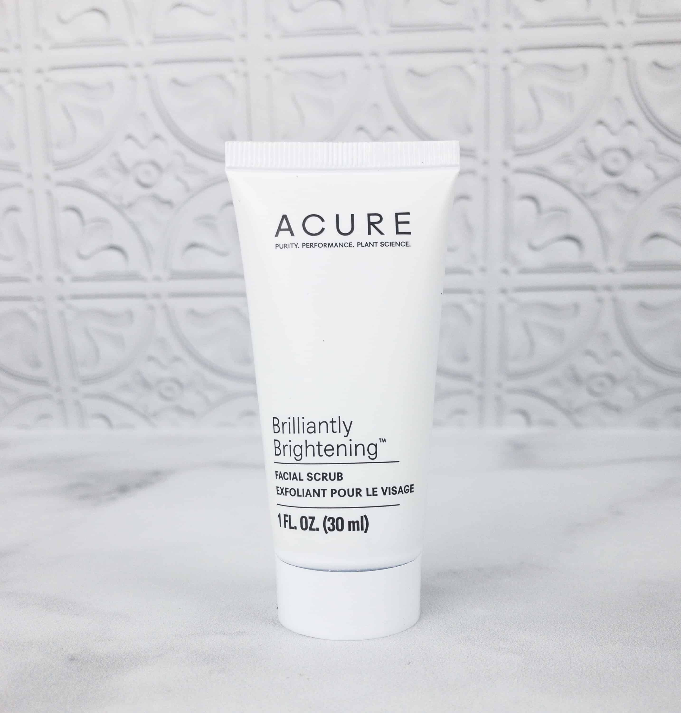 Acure Organics Brilliantly Brightening Facial Scrub (With