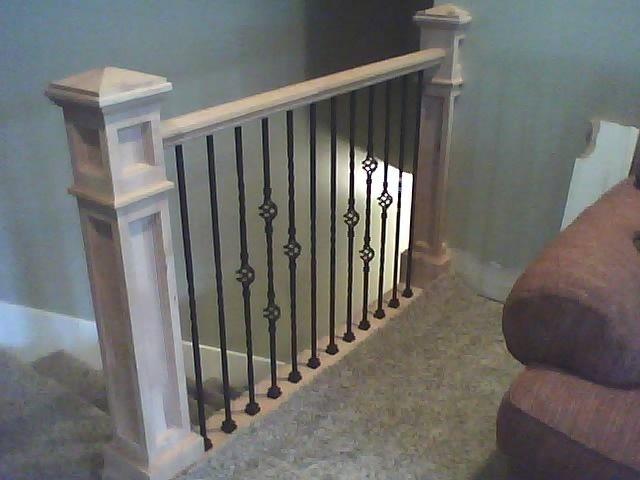 Best Newel Posts Burbidge Custom Woodwork Alder Newel Posts 400 x 300
