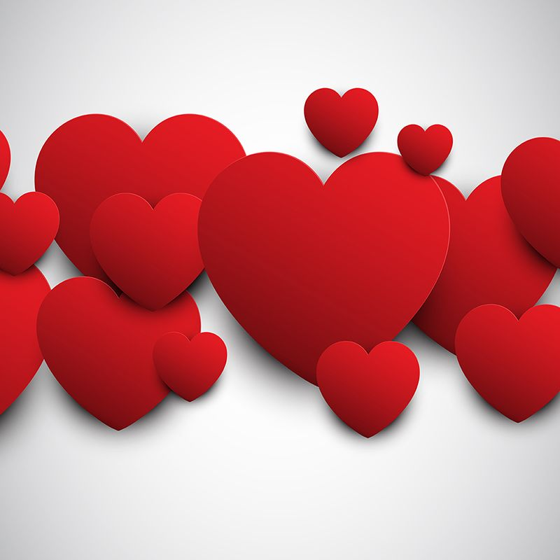 Valentines Day Banner Transparent Background