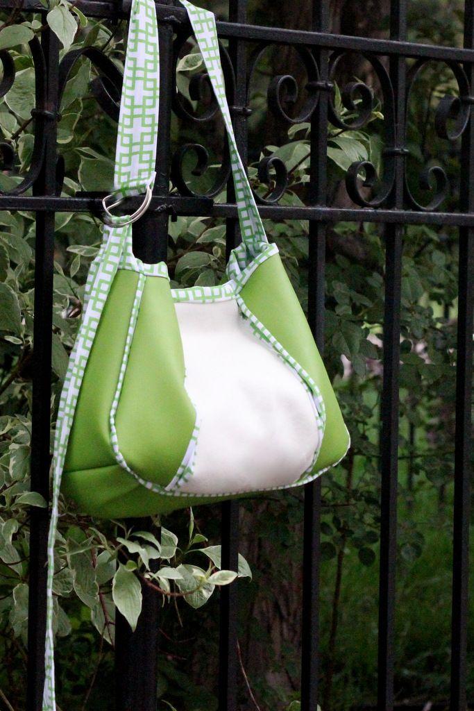 pleated purse tutorial