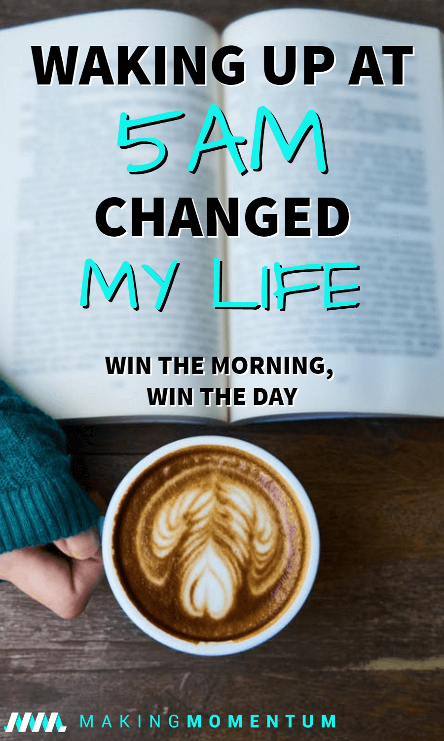 Waking Up At 5AM Changed My Life - Win The Morning, Win The Day #morningroutine