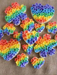 Resultado de imagen de rainbow flowers