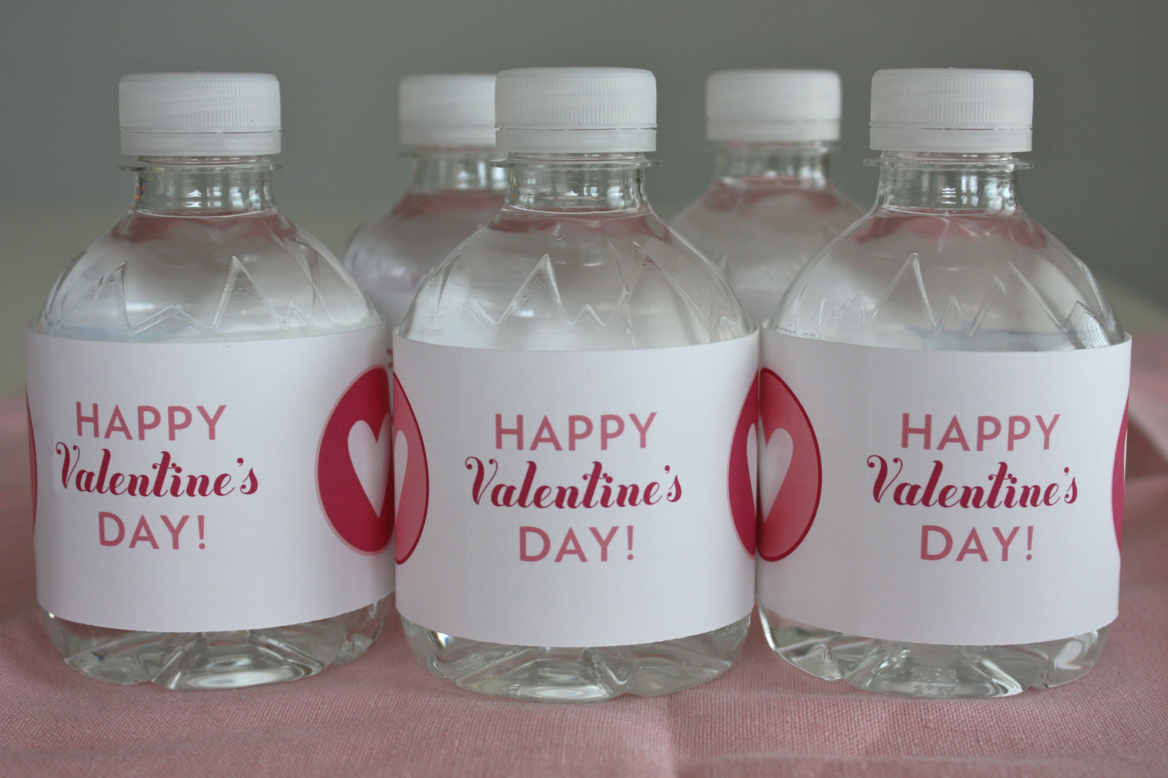Make Homecrafted Water Bottle Labels Just Like We Did For Big Bubs - Small water bottle label template