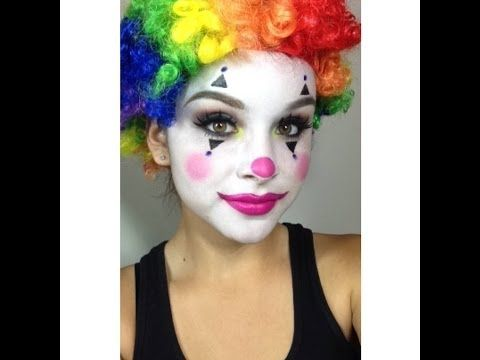 clown makeup tutorial halloween holiday ideas clown. Black Bedroom Furniture Sets. Home Design Ideas