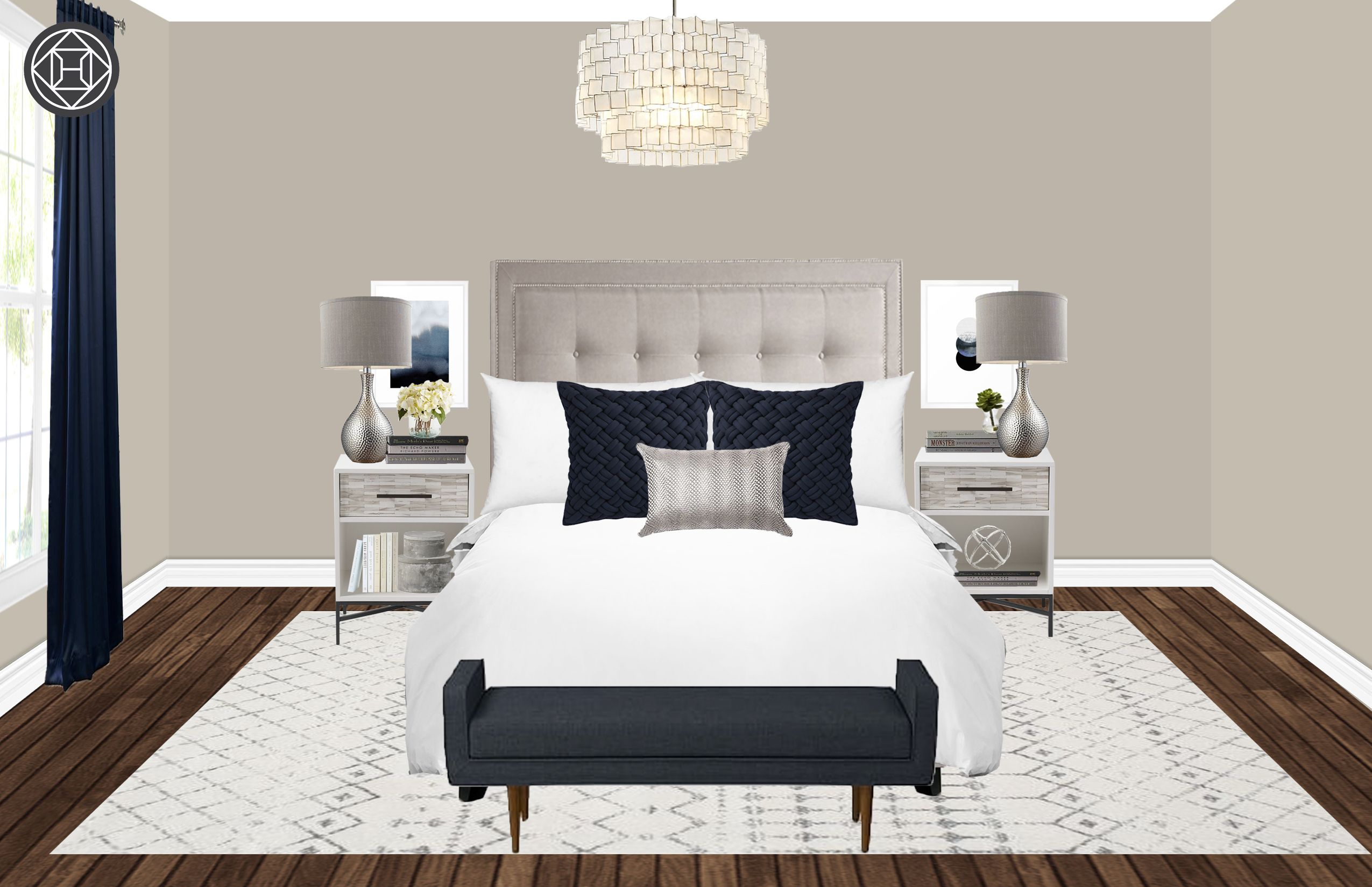 Modern Classic Traditional Bedroom Design By Havenly Interior