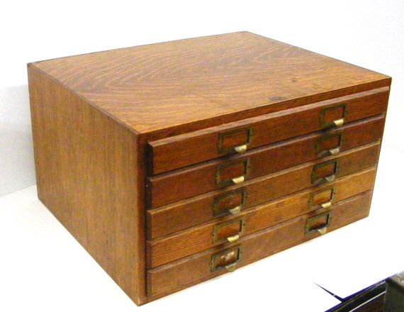 Rare Antique Weis 5 Drawer Wooden Flat By MagicDogCollectibles, $475.00 On  Etsy