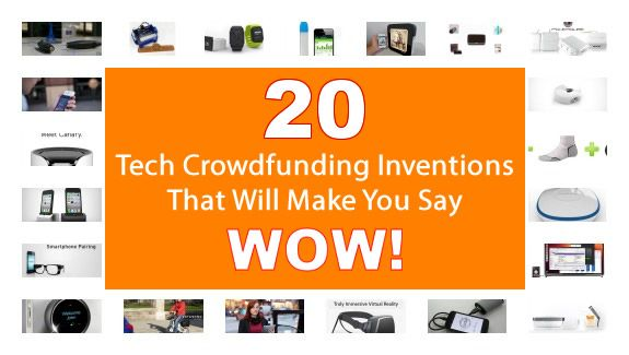 CrowdFund Tech Gadgets