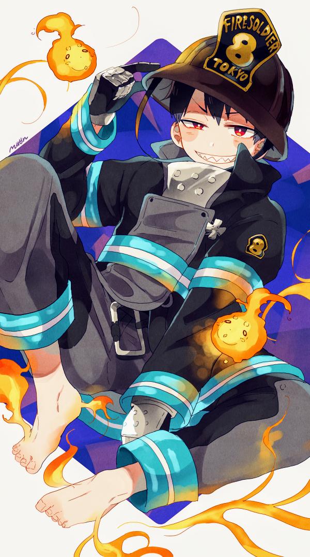 Shinra Kusakabe╳Fire Force Art Fanart Anime Manga