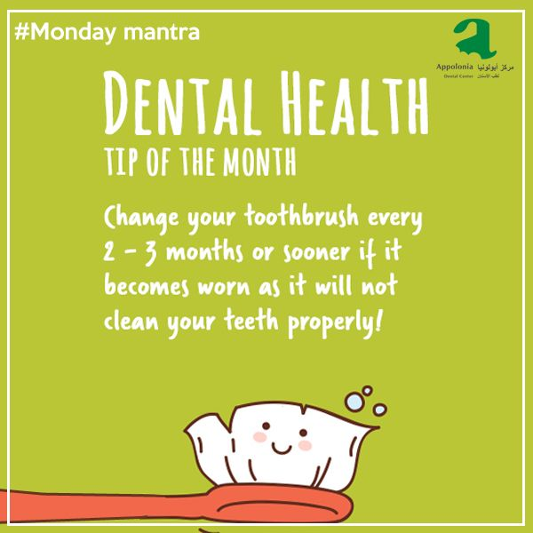 Replace toothbrushes ideally in 2-3 months because once they get worn out, they become inefficient in cleaning the corners and deep parts of your teeth