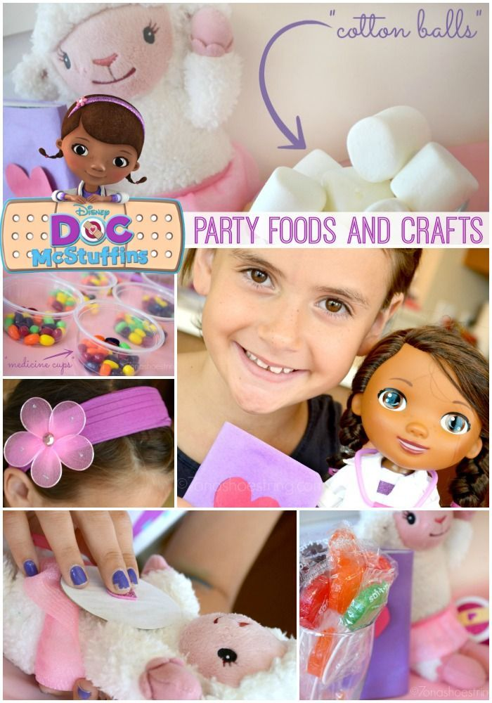 Doc McStuffins Themed Crafts and Food Disney Junior The Doc Is