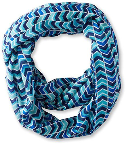 Calvin Klein Women's Multicolor Chevron Infinity Scarf | Smart Pinner