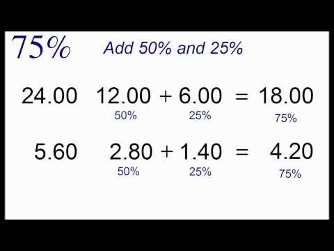 Calculate Nearly Any Percentage In Your Head with Simple