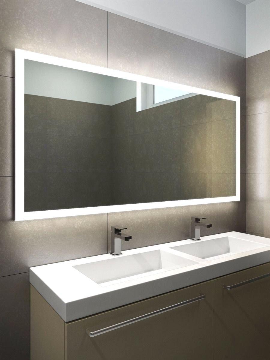 badezimmer spiegel mit led leuchten am santen spiegel. Black Bedroom Furniture Sets. Home Design Ideas
