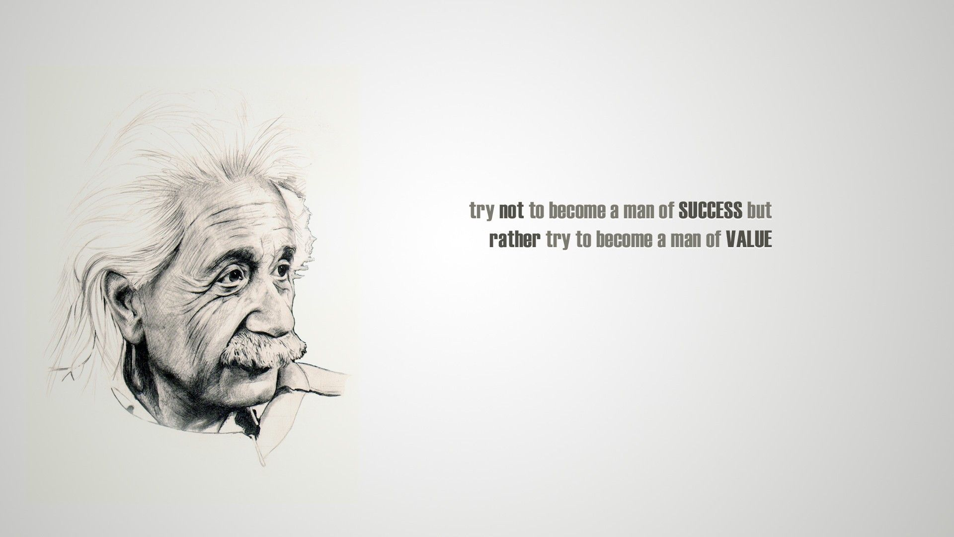 misc quote albert einstein success value funny quotes