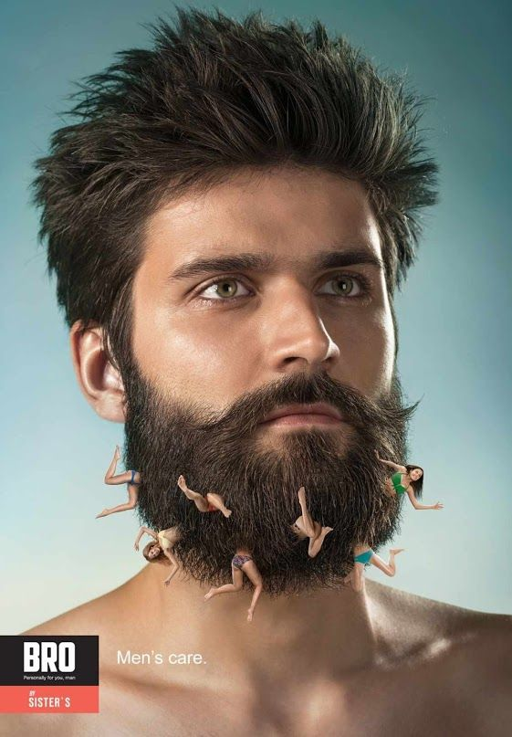 The best ADV Creative - BRO. Men's care - Advertising and Comunication
