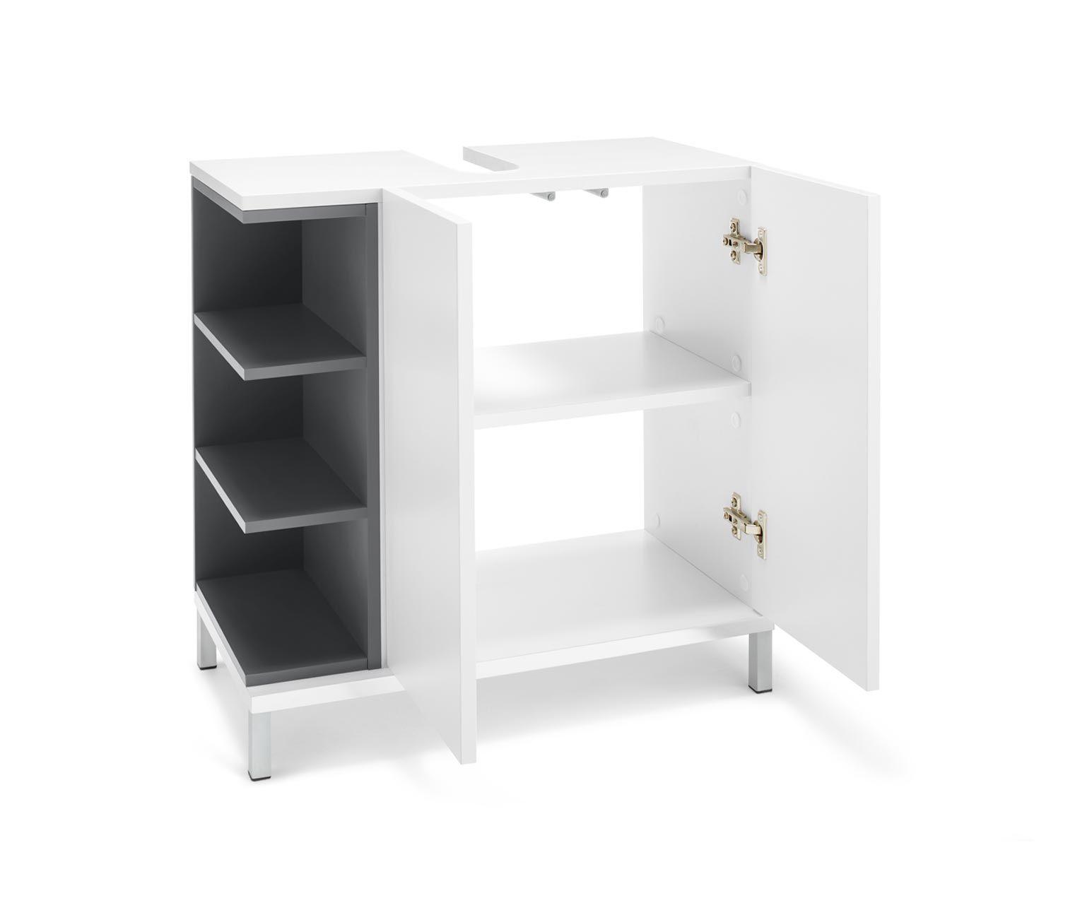 Waschbeckenunterschrank Vario Look Online Bestellen Bei Tchibo 343123 Waschbeckenunterschrank Schrank Badezimmer