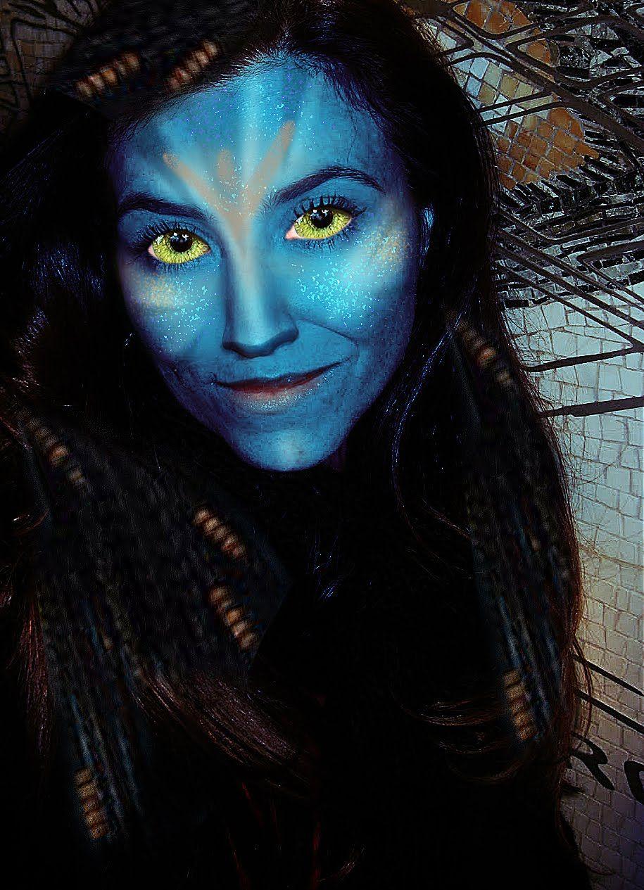 avatar #halloween #makeup , it\'s all out ^_^   gorgeous makeups ...