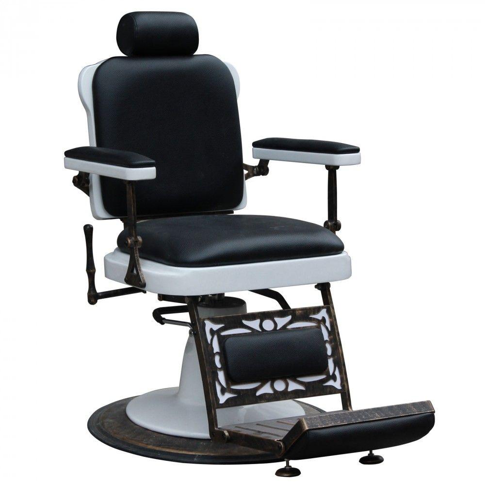 Vintage barber shop chairs -  Jefferson Vintage Reclining Hair Salon Barber Chair