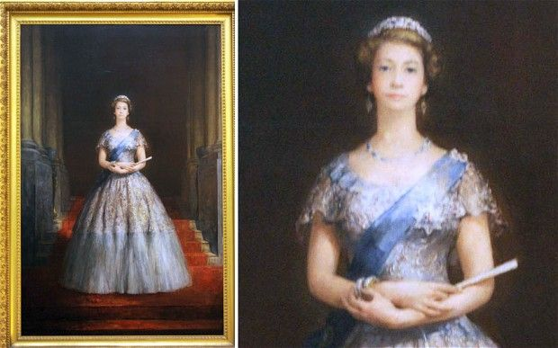 Finally On Display The Extraordinary Queen Portrait