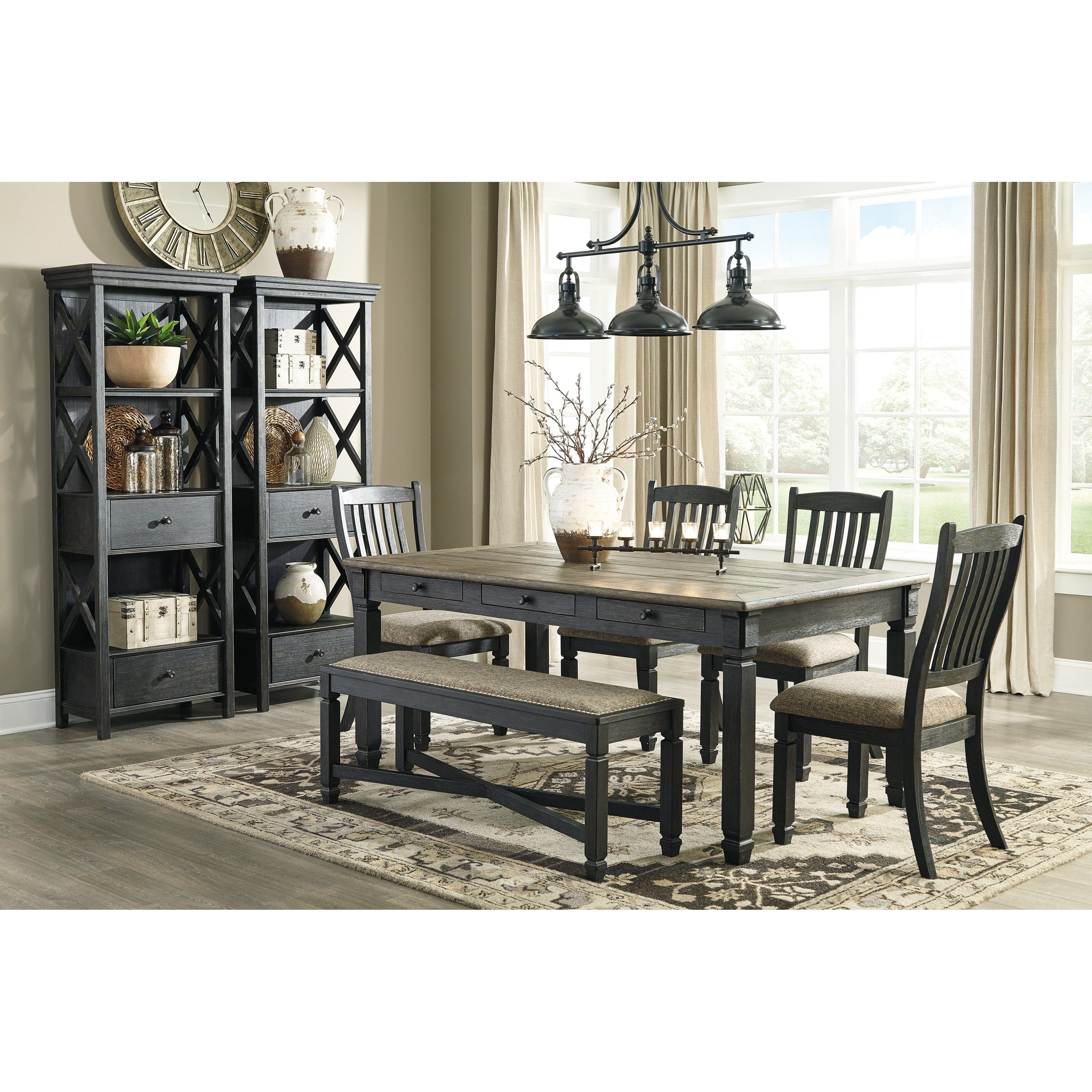 Tyler Creek Formal Dining Room Group By Signature Design