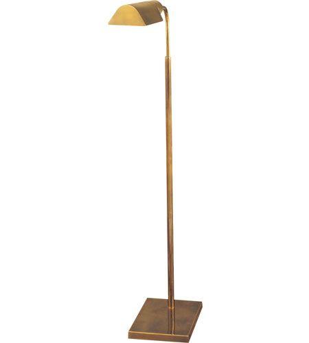 Visual Comfort Studio 1 Light Task Floor Lamp in Hand-Rubbed Antique ...