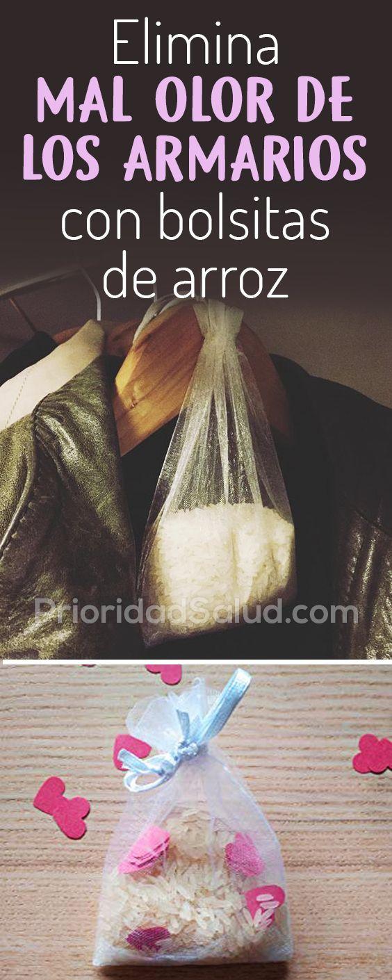 vanguardia de los tiempos colección de descuento nuevo alto Elimina mal olor de los armarios con bolsitas de arroz ...