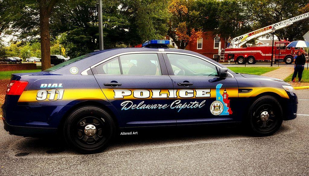 Delaware capitol police cruiser police cars police car