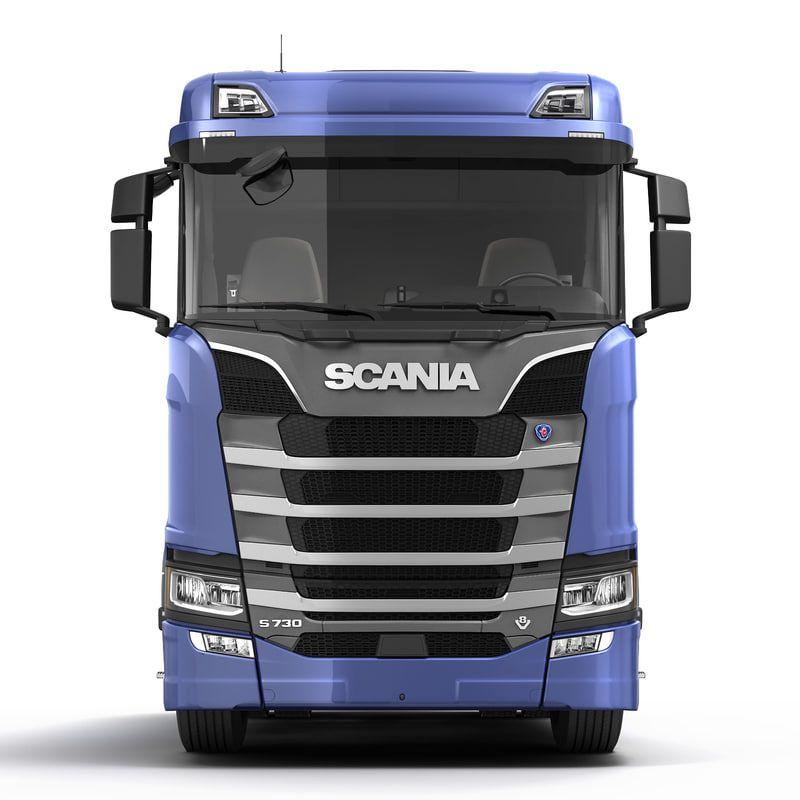 Scania S 730 Normal 3d Model Caminhao De Madeira Carros E Caminhoes Caminhao Scania