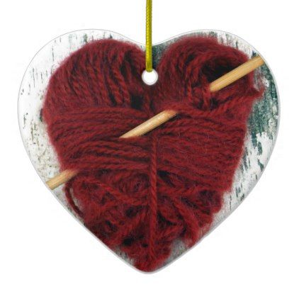 Red wool heart on birch bark photograph ornament red wool heart on birch bark photograph ornament saint valentines day gift idea couple love negle Gallery