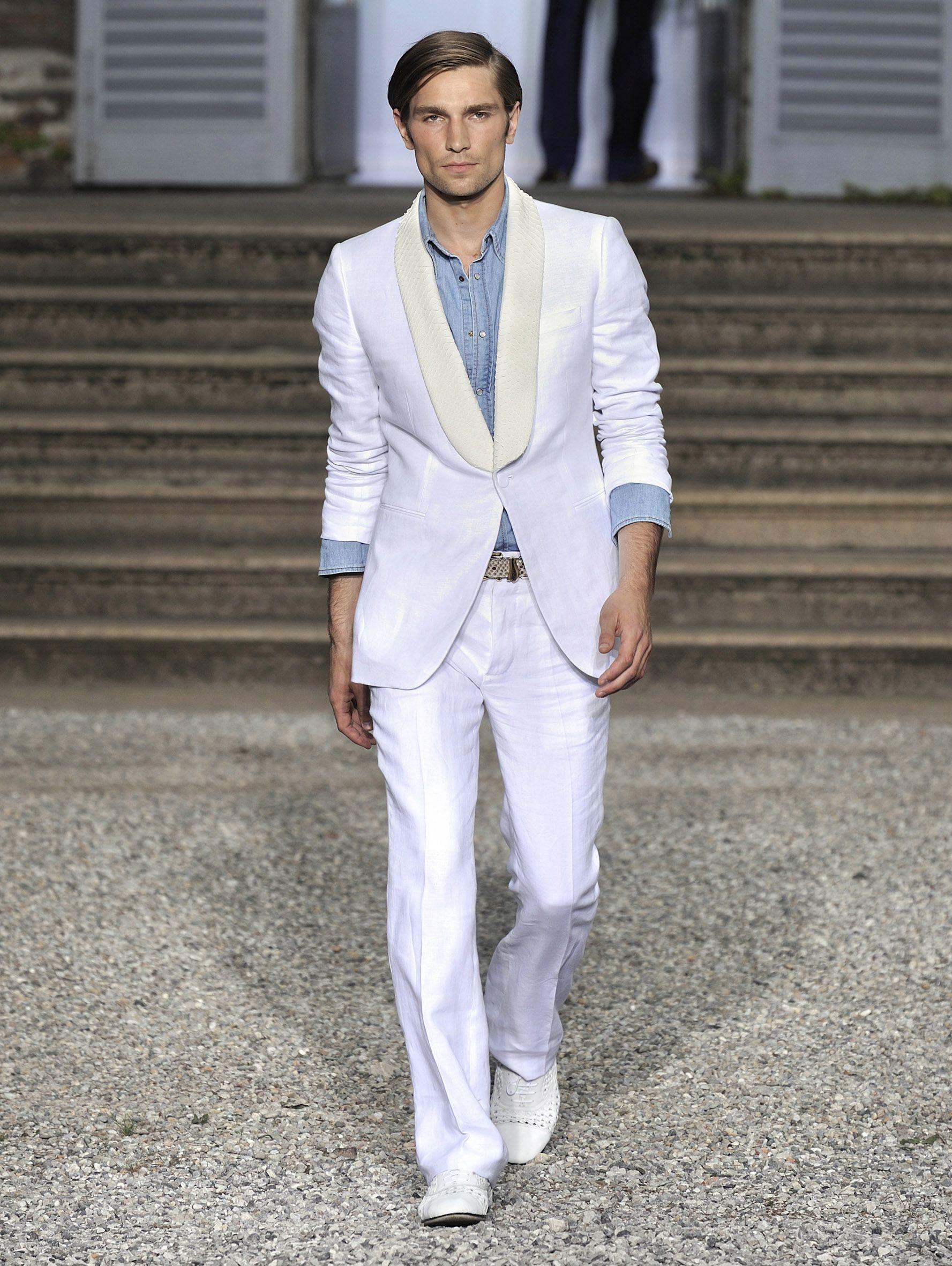 Roberto Cavalli Spring/Summer 2012 Men's Fashion Show - Look 12