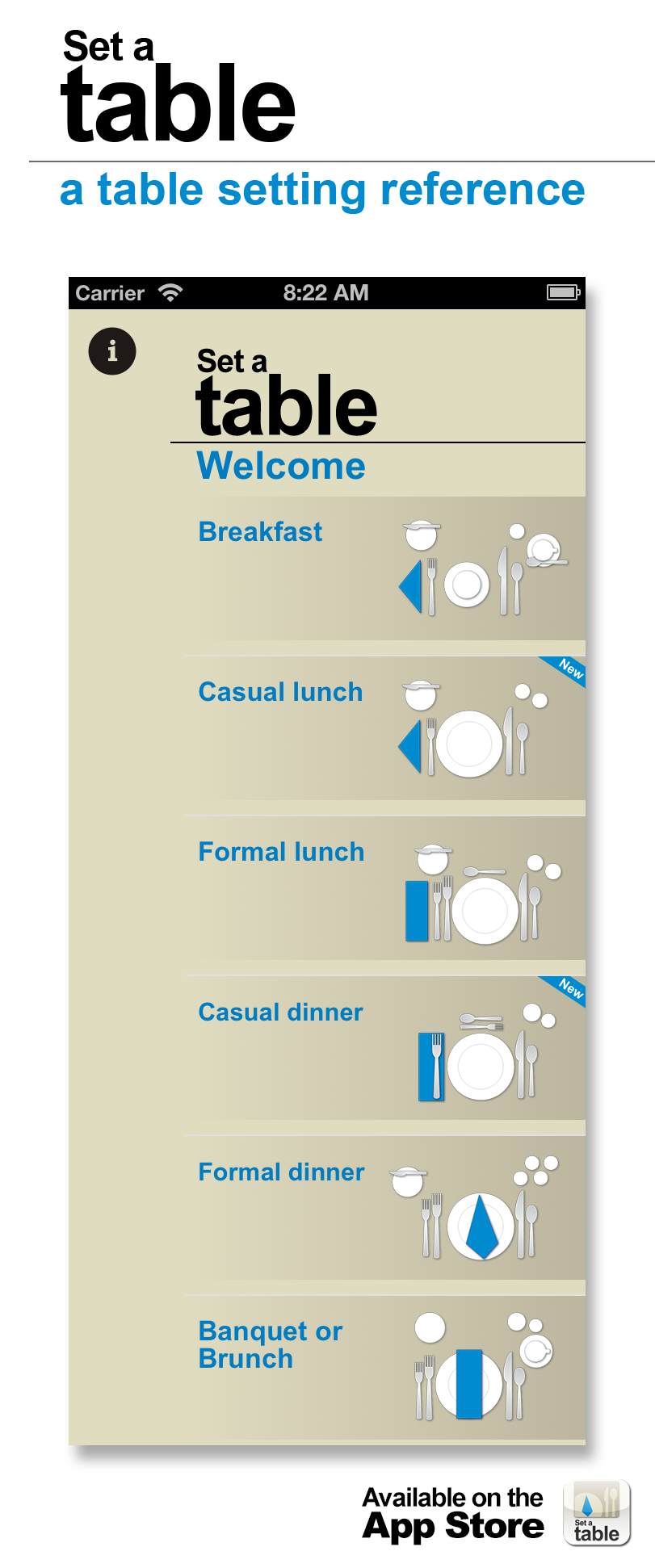 small resolution of set a table a table setting reference for iphone
