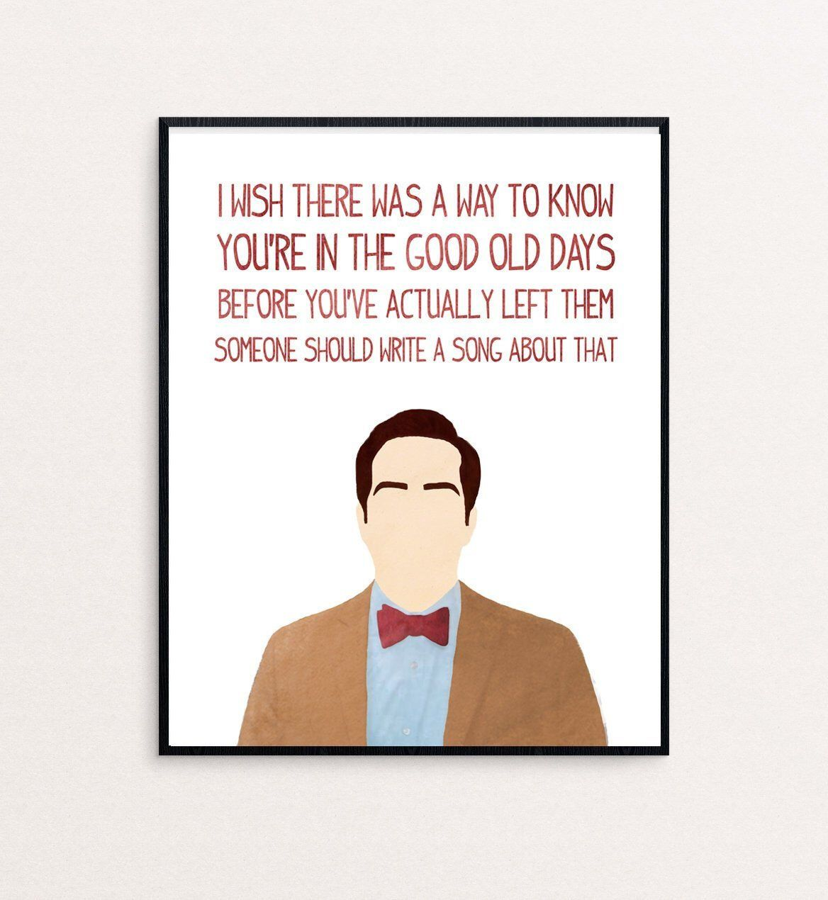 """Andy Bernard Quote """"I wish there was a way to know you"""