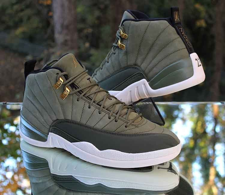 release date 96109 f1cb7 Air Jordan 12 Retro Chris Paul CP3 Class of 2003 Olive ...